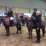 Ravensdale SJI Registered Indoor Spring League Horse Results 1st Feb