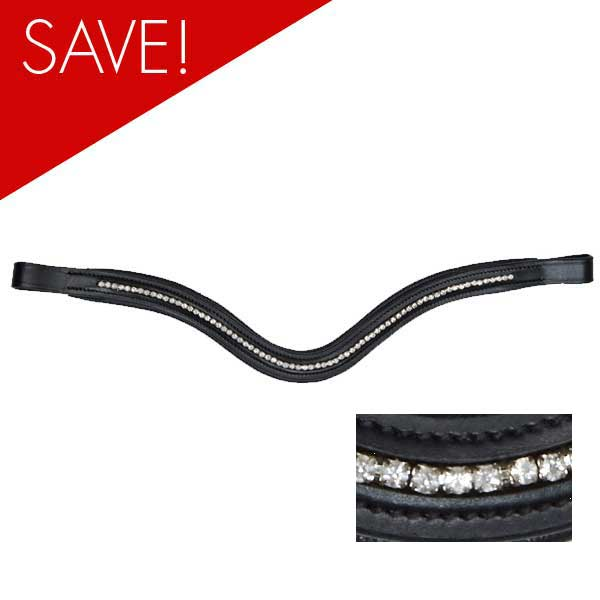 Collegiate-Shaped-Diamante-Browband