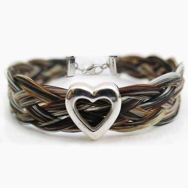 Gemosi-Harmony-heart-horse-hair-bracelet