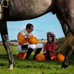 Jamie saddles up for the Dowth Point-to-Point and Country Fair