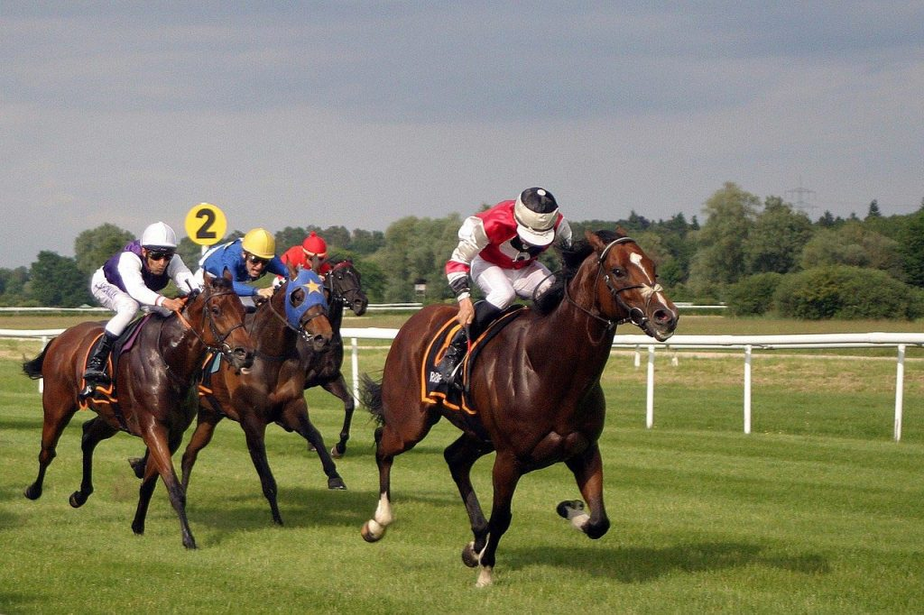 With racing to continue and betting shops closing, online betting is expected to surge
